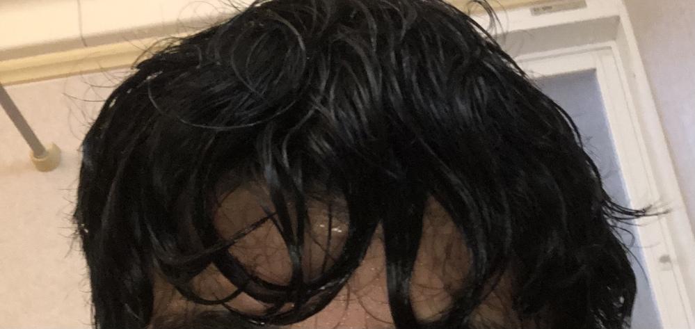 癖毛で水に濡れるとこうなります禿げてますか?