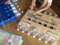 ペットボトルで イカダを作ろうと思った事は ありませんか?   ペットボトルで いかだを作る時の ポイント、注意点を教えて下さい。