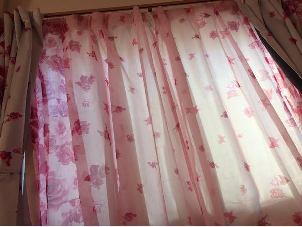 このカーテン変やないですよね?通販で買いました。きついそうです