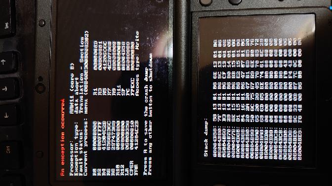 3DS NTRでプラグイン選択時に下の画面になるのですが何故でしょうか?