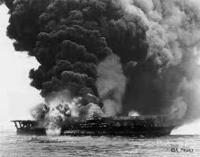 大本営発表の結果によって次の作戦を決定することがあったにも関わらず、1942年6月のミッドウェー海戦では、4空母を喪失する被害を負ったが、 戦意高揚のため、損害の事実を過小に発表している。 ミッドウェー海...