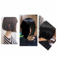 ストレートアイロンを使えば、左のような髪型になれますか?