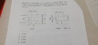 図の寸法とそれぞれの長期荷重、風圧力から最大引張力を求める問題です。 ボルトが2×2のパターンなら解けるのですが、3×2のパターンだと公式のどこをいじれば良いのかが分かりません。 2×2のパターンなら 最大引張力=長期引張力+風圧時引張力 長期引張力=1×0.9+0.2×0.15÷2×0.4 水平力h1=1.2×1.5×1=1.8 h2=0.3×0.5×0.2=0.03 風圧時引張力=1.8...