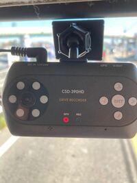 ドライブレコーダー トラックに付けたドライブレコーダーがずっとこの状態なんですが これって録画してますか?
