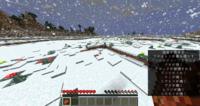 マインクラフトのバイオームでこのように、雪が凸凹に積もるようなバイオームはありますか??