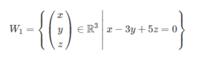 線形代数、部分空間の範囲です。 次の部分集合がR^3の部分空間かどうか調べよ といった問題ですが、そもそもイメージが良くつかめずどうすればよいのかよくわかりません。  x,y,zはそれぞれR^3の中にあるベクトル...