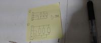 回路図についての質問です。  抵抗を並列つなぎにした回路図なのですが、画像の①と➁の場合、線の描き方は違いますが回路的には一緒ですか? 汚い絵ですみません。