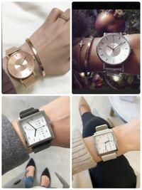 仕事以外のファッション時計で迷っています。 普段はシンプルカジュアルが多いです。   どれがいいと思いますか? よろしくお願いします!
