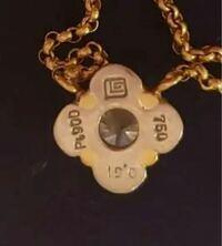 このネックレスの刻印なのですが、どこのブランドがわかる方いらっしゃいますか?