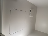 一人暮らしを始めました。 浴室乾燥機ありとなっていましたがそれらしいボタンも機械も見つかりません。 写真はお風呂場なんですが、、 ないんでしょうか?
