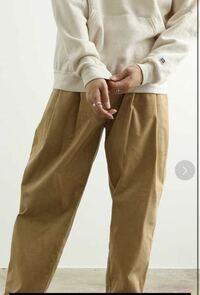 このコーデュロイパンツを購入したのですが 上に着るもので合わないものってありますか? ナイロン系のジャケットとかって合わないですかね?