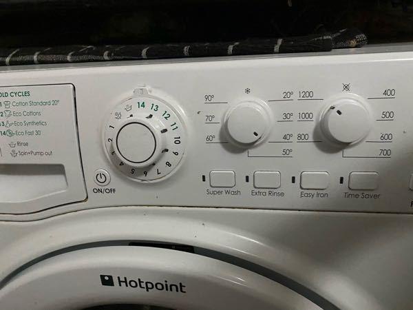 ロンドンの洗濯機の使い方がいまいちわからない。。。