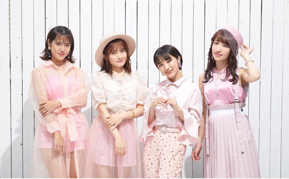 このアイドルグループはカントリーガールズ?であっていますか? またこの衣装の曲のタイトル、MVの撮影場所など分かる方いますか?