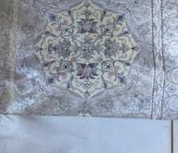 こちらの袋帯を縫紋の入った無地紬や大島紬の訪問着に合わせても構わないものでしょうか? シーンはちょっと改まったお席です。