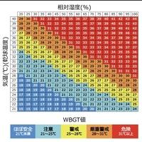 パソコンが得意な人、数学できる人お願いします。 温度と湿度からWBGTの表の値が出せる計算式の求め方を知りたいです! 二元二次方程式として最小二乗法で算出式を求めたいです! できればExcelなどの簡単なソ...