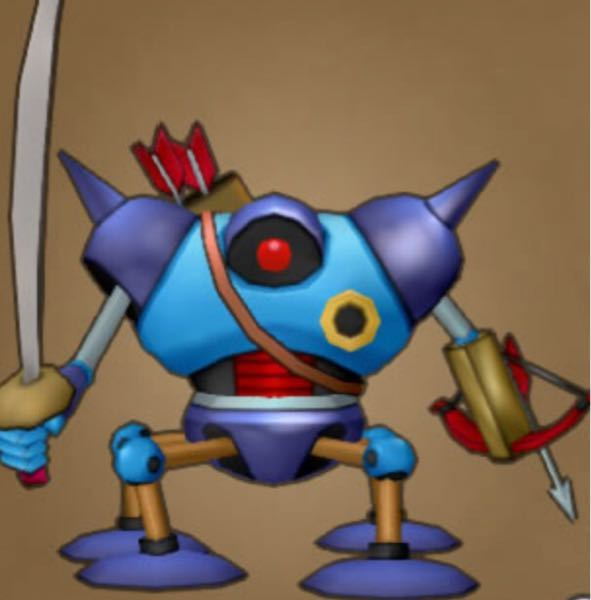 ドラクエのキラーマシンはどうやって矢を放つのですか?背中にある矢はどうやってボウガンにセットするのですか?今までのドラクエシリーズで矢を放つシーンってありましたっけ。動画とかありますかね?