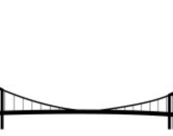 3DCADソフト、fusion360を始めたのですが、こういうアーチを描くにはどういったスケッチの仕方をするのでしょうか? 写真は橋です。