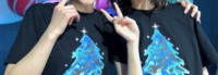 坂道⊿TシャツクイズPart73 画像のTシャツを着てる  現役、及び元坂道メンバーは  左右それぞれ、誰でしょう?