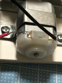 モーターの銅線と繋げる金属部分が切れてしまいました。何か修正する方法などありませんか?