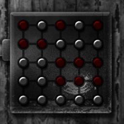 このパズルの解き方を教えてください。 初期位置はこんな感じです。