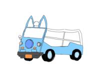 絵を練習しています。車の絵やキャラクターの絵を描きたいのですが、したに貼った画像のように線はガタガタ、タイヤは全く形になってない、車体は斜めを向いているのに耳はこちらを向いている、フロントの角度がおか しい……など素人目でもわかるようなミスがたくさん重なってしまいます。どうしたら直りますか?教えてください