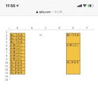 Excelについて質問です 写真のようにしたいのですが、どのように入力すればいいか教えてください 色々調べて、 =INDIRECT(ADDRESS(ROW(),COLUMN()))=INDIRECT(ADDRESS(ROW()-1,COLUMN())) これをどのように入力すれば写真のようになりますでしょうか? 条件書式は別で入力はします