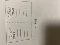 word 使い方 大学の授業で教材作りをしていて、wordを使っているのですが、 横向きの紙でちょうど半分の部分に切り取り線を入れたいのですがどうすれば良いでしょうか。 Excelを使った方がいいのでしょうか。 大学生にもなりwordやExcelが使いこなせないのは自分の至らない点ではありますが、お力をお貸しください。画像のようなプリントを作る予定です。