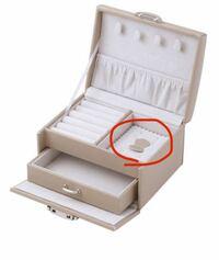ジュエリーボックスなどのこの部分はどのように使う?何を入れるのですか?