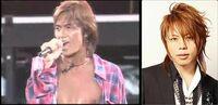 B'zの稲葉浩志さんとT.M.Revolutionこと西川貴教さん。 この声量が半端なく凄い歌手のうち、 貴方はどちらの歌手の方がより歌が上手いと思いますか?