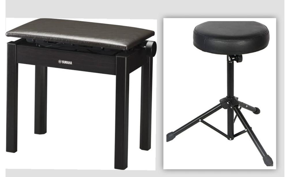 電子ピアノ用のどちらが良いと思いますか?個人的に右が良いのですが。