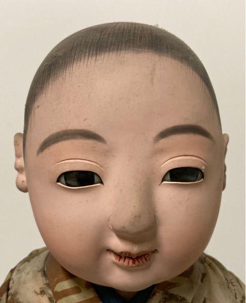 この市松人形男の子の作家名を教えてください。