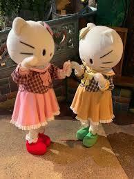 姉妹仲がこのように良い家庭を持つと幸せだと思います。 キティちゃんとミミィちゃんの両方のキャラクターが好きな方は多いのでしょうか?