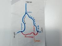 宮崎自動車道の都城IC(宮崎県都城市)と東九州自動車道の末吉財部IC(鹿児島県曽於市)の間はかなり近そうですが、 何故お互いをつなぐように東九州自動車道を建設しなかったのですか? 私としてはこうすれば良かっ...