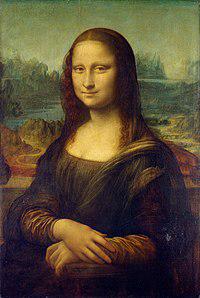 【大喜利 No-12】 (お題)    画像の絵画(モナ・リザ)のしょうもないウンチクを教えて下さい。   大喜利ですのでウソ前提ですが、オチが付くなら本ネタもOKです。 その際には実話と付けてくれたら助かります。  ...