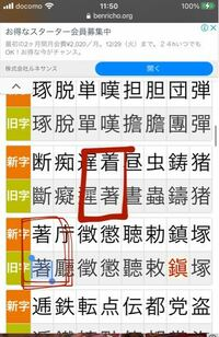 旧字体について。 写真の二つの漢字、旧字体において全く同じようにみえるのですが、どう云ふことでせうか?