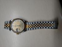 祖父の形見の腕時計です。Rolexとは聞いたのですが、具体的な商品名が分かりません。教えてください。
