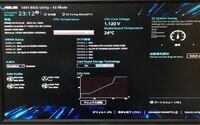 パソコン起動時にUEFI BIOS Utility EZ modeと出るのですが何かいけないのでしょうか?