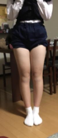 これって足太いですよね……どうしたら足が細くなりますか?いろいろ試してもダメで……