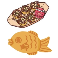 たこ焼きと鯛焼き。どちらの方が好きですか?