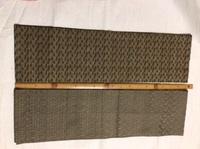 この帯はどんな帯でしょうか。教えてください。 写真の2本の帯です。大正3年生まれの曽祖母のものなので、多分昭和40〜50年頃に使っていたのではないかと思います。織の帯で、一つは笹、一つは柊の模様で、とても...