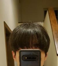 前髪が透けてるの変では無いですか?