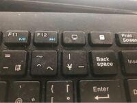 キーボードのキーの無効化について 画像のF12キーの右隣にあるマイコンピュータを開くキーがゲームをしている時に間違えて押してしまうことがよくあるのですが、このキーを無効化する方法があれば教えてください。