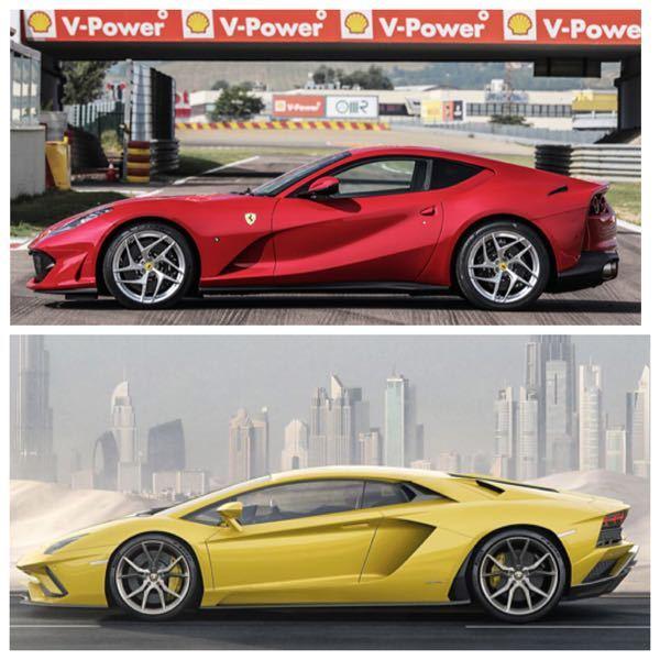 スーパーカーの二台巨塔といえば、フェラーリとランボルギーニ だと思います。 そして、その2つのメーカーのフラッグシップモデルは自然吸気V12エンジンを搭載したクーペです。 それが写真に載せた81...