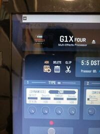 ギターのマルチエフェクター zoomマルチ g1使ってる方へ質問です。 このADDは何ですか?