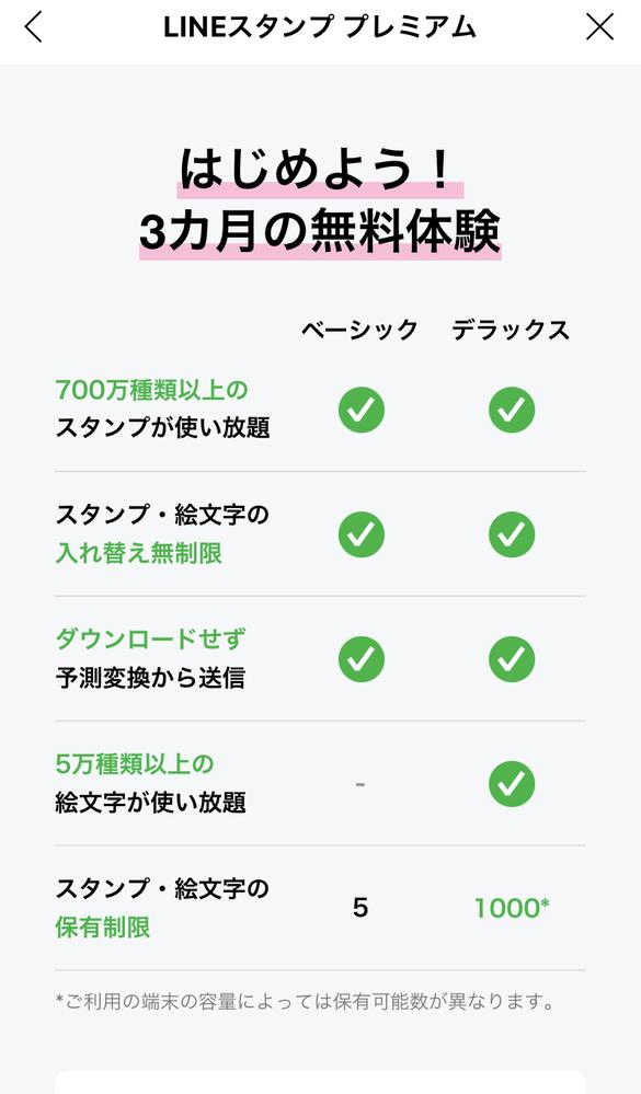 LINEの3か月無料のスタンプのプランって、3か月経ったら強制的に月額を払うとかではなくて、 体験後にプランを購入するかしないかみたいな選択とかありますか?プランを体験された方教えて頂きたいです!