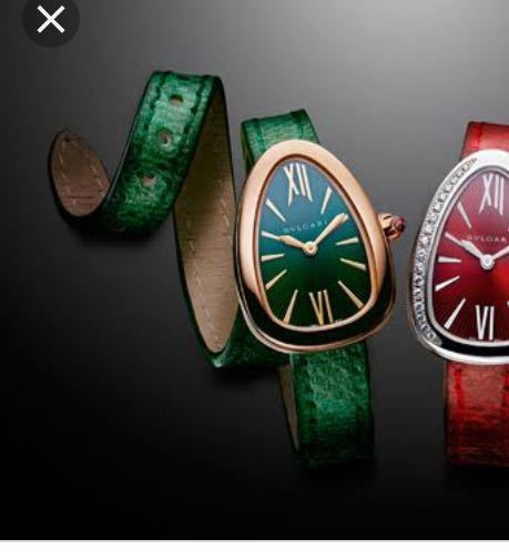 ブルガリのセルペンティ時計について 私は、29歳女です。お堅い職場にいます。兼ねてより30才を前に、ご褒美を買いたいなと思っていて、 カルティエの時計バロンブルー等を検討していました。 最近ブル...