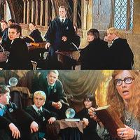 映画版のハリーポッターと不死鳥の騎士団でドラコの隣に女の子がいるのをちょくちょく見かけたのですがパンジーですか? パンジー役の女優さんは毎回変わるのでわからず、、、