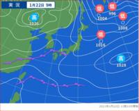 前線だけで低気圧印のつかない天気とはどう言う天気なんですか。なにがどうだと印がつきませんか?