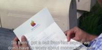 1995年にフォレストガンプという映画があって、フォレストは果物会社から株もらったといって、 それがアップルコンピューターというオチなんですが、今考えると、その当時にアップル株を買ってたら、今頃大金持ち...