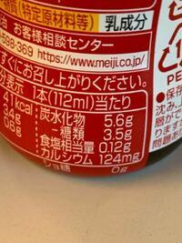 糖質オフダイエット中なのですが、 炭水化物 5.6g 糖類 3.5g  このように表示されている場合、いわゆる『糖質』の量はどちらを見れば良いのでしょうか。